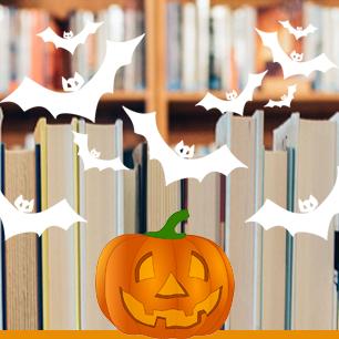 halloween-library